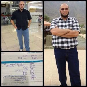 نزل وزني ٢١ كيلو في ٤ اشهر ونصف