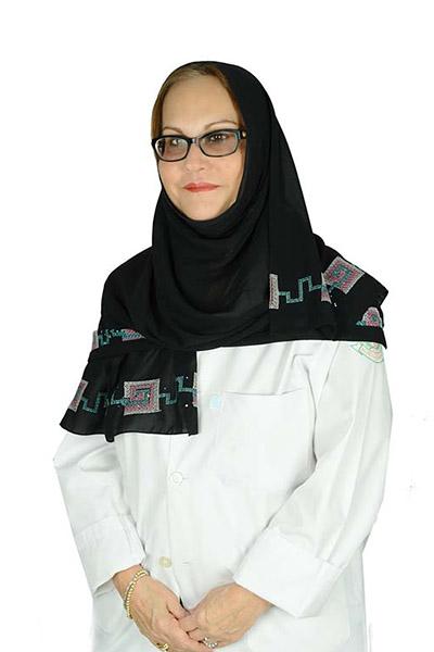 الدكتورة بثينة المنصوري