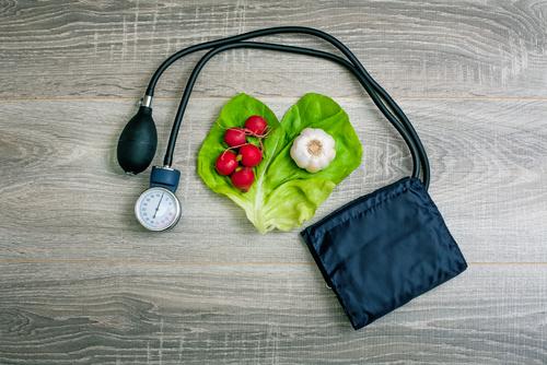 علاقة الغذاء بارتفاع ضغط الدم